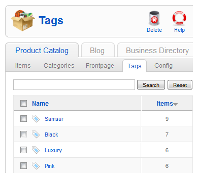 manage tags 6